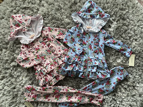Rose frill tracksuit age 2-12 Years