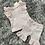 Thumbnail: Caramelo diamante ruffle leggings set 6M - 6 Y