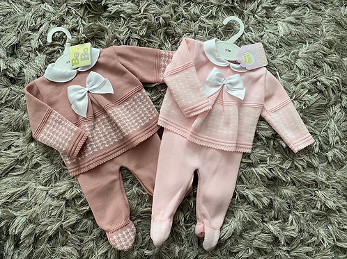 Spanish houndstooth two piece 0-12 Months