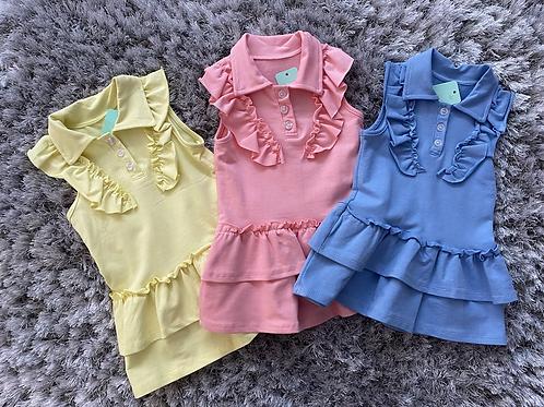 Girls tennis dresses ages 2-12 Yrs