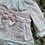 Thumbnail: Wee Me pink embroider frill collar dress 6-18 Months