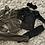 Thumbnail: Shimmer capped shoulder lounge sets khaki/black ages 2-14 Years