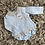 Thumbnail: Babidu blue/grey chequered set 0-3 Yrs