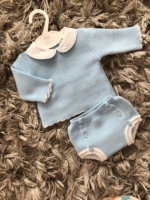 Kinder long sleeved jam pants set NB-6 M