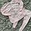 Thumbnail: Back bow diamante leggings set age 2-12 Yrs