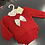 Thumbnail: Spanish red top/jam pants outfit 0-12 Months
