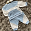 Thumbnail: Mintini baby blue jogging suit 0-4 Years