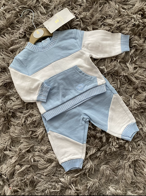 Mintini baby blue jogging suit 0-4 Years
