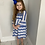 Thumbnail: Aztec Midnight blue dress age 4-14 Years