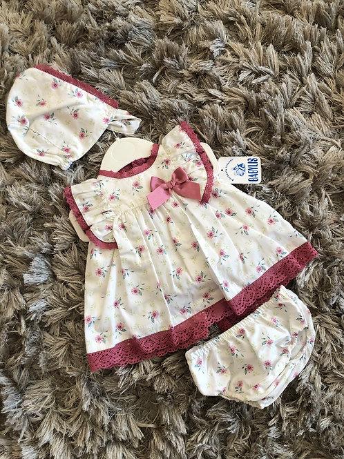 Babylis dusky pink spanish 3 piece set 3-18M