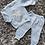 Thumbnail: Boys baby blue star print set 0-18 Months