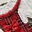 Thumbnail: Ninas y ninos red tartan frill romper 3-24 Months