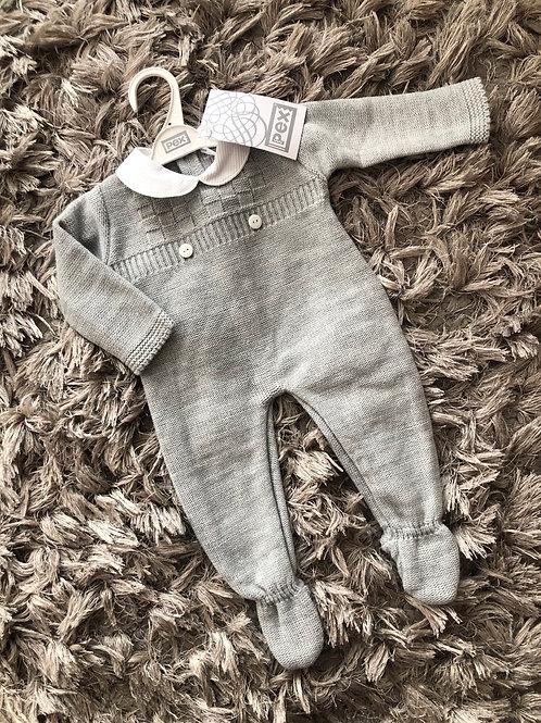 Pex Heath romper grey 0-12 Months