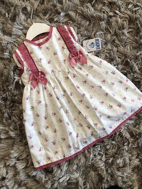 Babylis dusky pink spanish dress 2-6 YRS