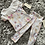 Thumbnail: Fan collar floral lounge set ages 1-10 Years
