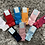 Thumbnail: Tambino double bow knee high socks EU 16-27
