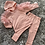 Thumbnail: Girls hooded ruffled sleeve lounge sets ages 4-14 Years