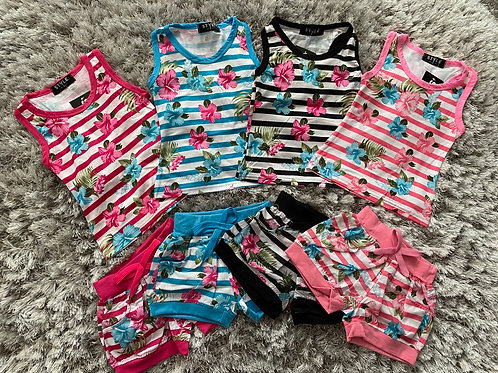 Floral two piece sets 2-12 Years