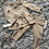 Thumbnail: Frill collar back bow lounge set pink/camel/grey ages 2-12 Years