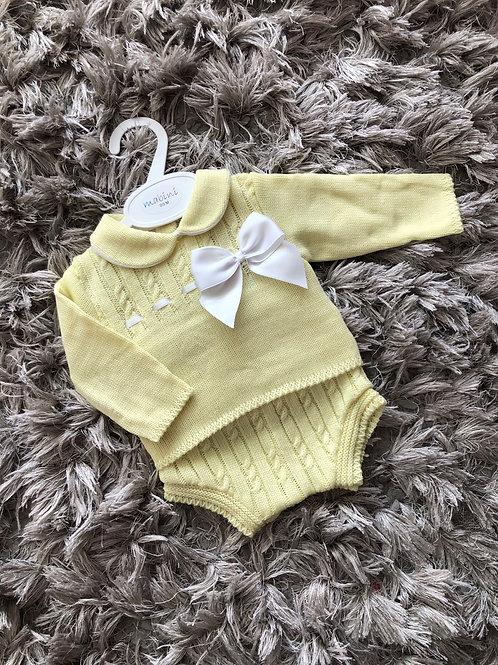 Mabini lemon spanish outfit 0-18 M
