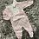 Thumbnail: Calamaro pink floral babygrow NB - 6 Months