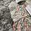Thumbnail: Calamaro peach floral dress 12-18 M