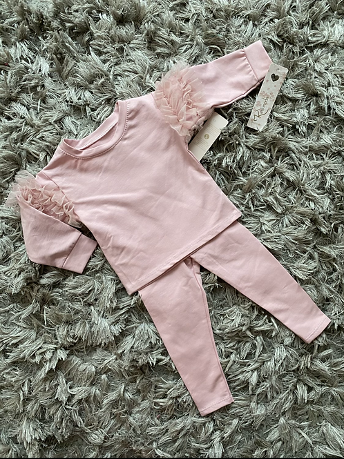 Baby's ruffled lounge sets 3-30 Months