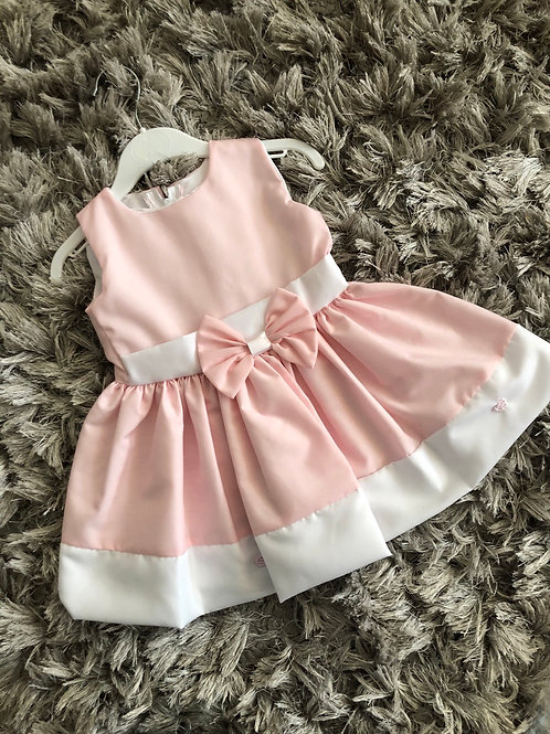 Little Frillies pink bow sundress 6-18 M