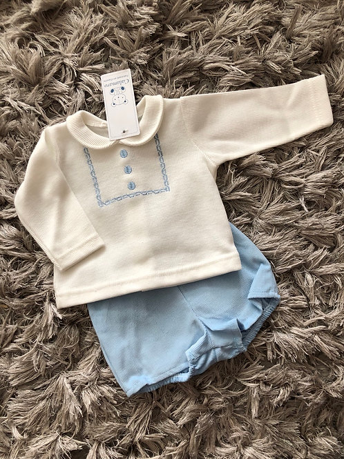 Calamaro Top/shorts set 0-18 Months