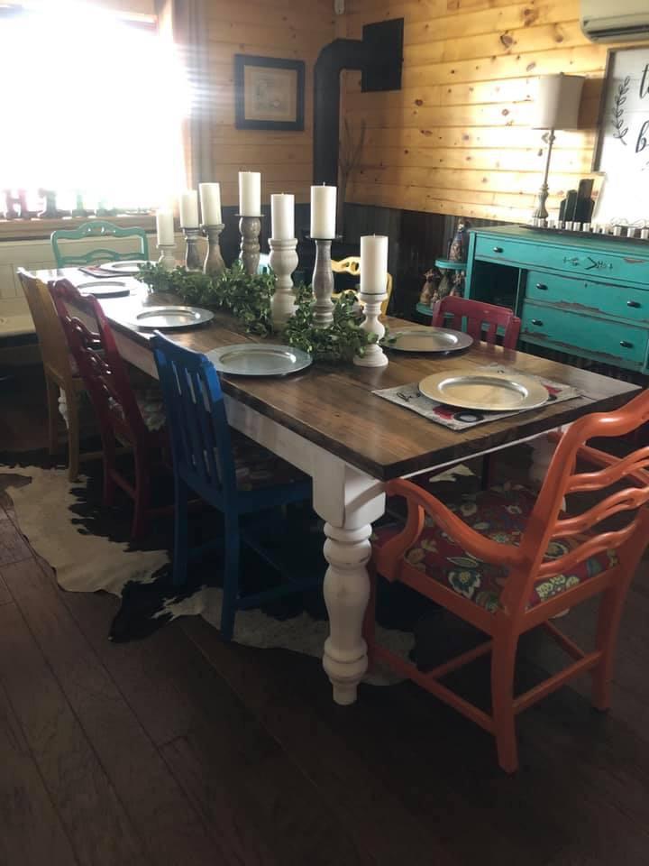 Special Walnut FrenchFarmhouse Table