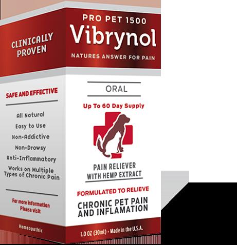 Pro Pet 1500 Pain Reliever & Hemp Extract