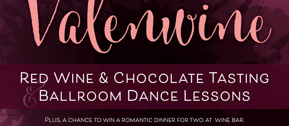Wine down with your Valentine and learn to dance!