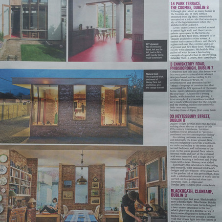 Park Terrace House Features in Sunday Times Open House Feature