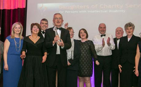 Daughters of Charity win twice @ Irish Healthcare Centre Awards