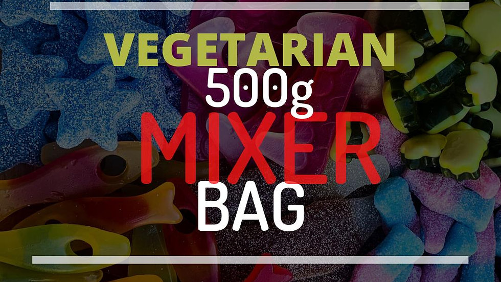 Vegetarian 500g Mix