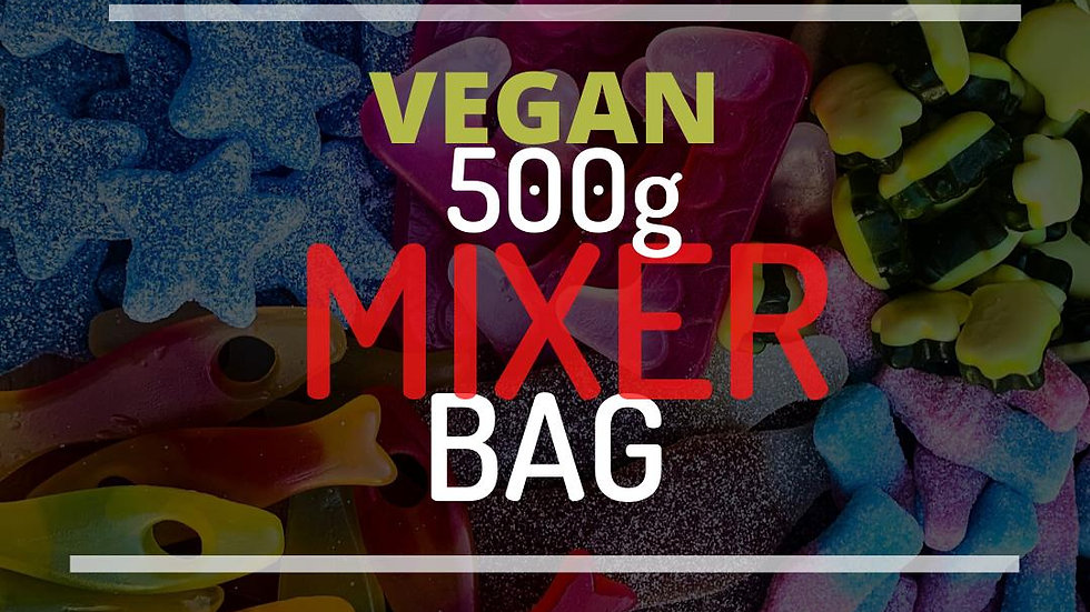 Vegan 500g Mix