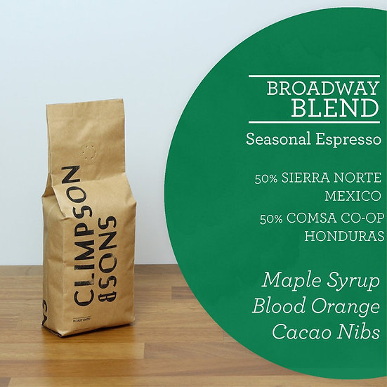 Climpson & Sons - Broadway Blend 250g