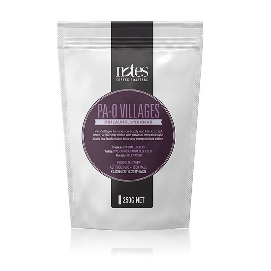 Notes Coffee - Pa-o Villages 250g