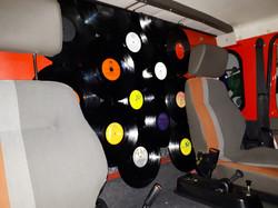 Schallplattenvorhang