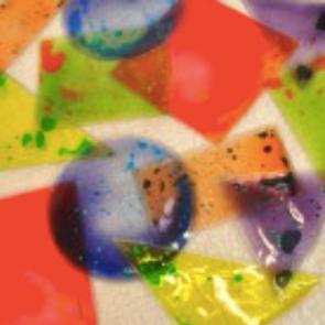 Pochettes sensorielles colorées