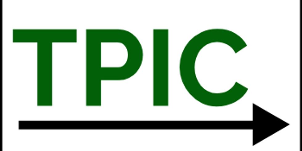 TPIC Training - Richmond, CA - April 23, 2020