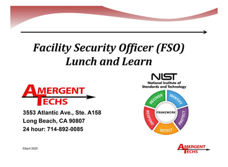 Lunch & Learn Recap: NIST Cybersecurity Framework Part One: Identify