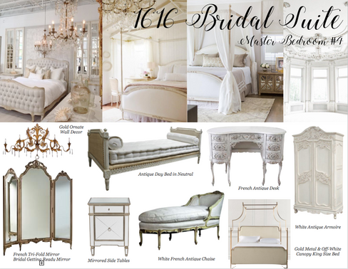 The 1616 House Bridal Suite Inspiration