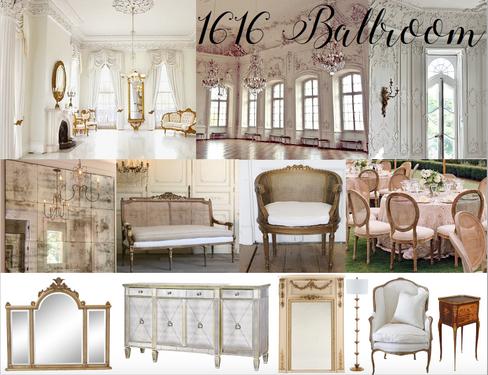 The 1616 House Ballroom Inspiration Desi
