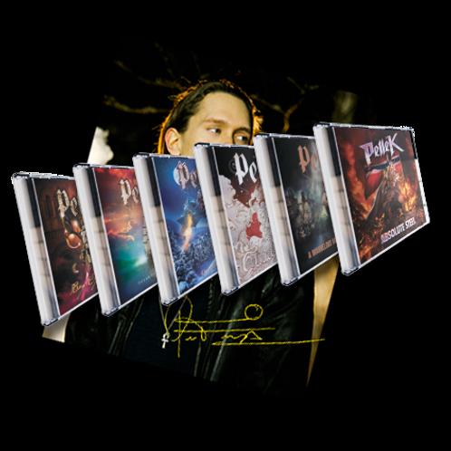 Signed Poster & Albums Bundle