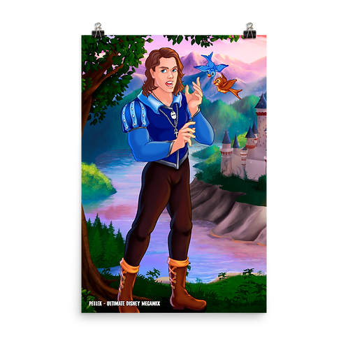 PelleK - Ultimate Disney Megamix (XL Poster)