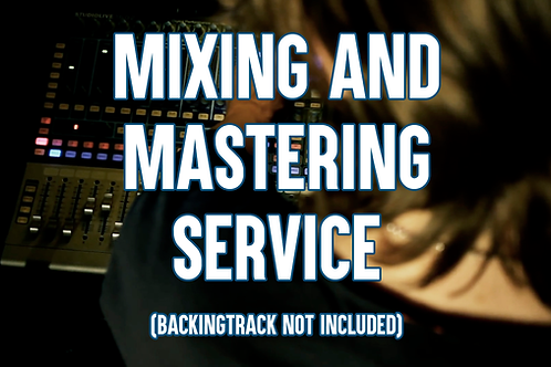 Professional Mixing/Mastering Service