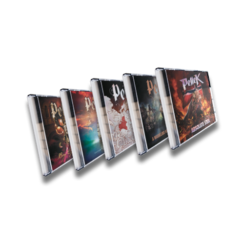 All 5 Original PelleK albums