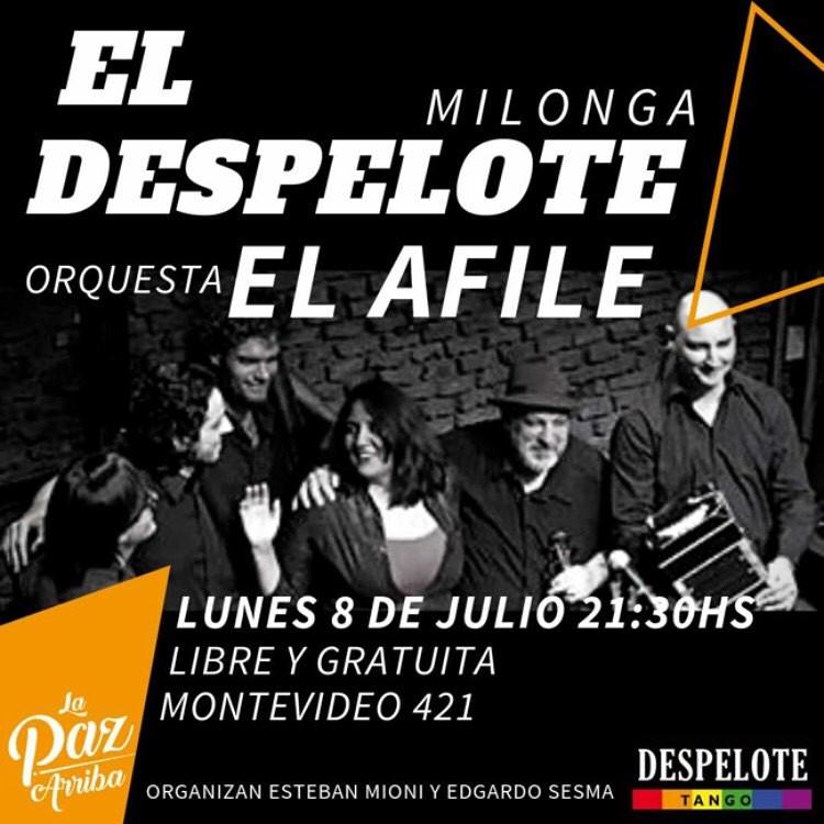 El Despelote, Milonga de Buenos Aires