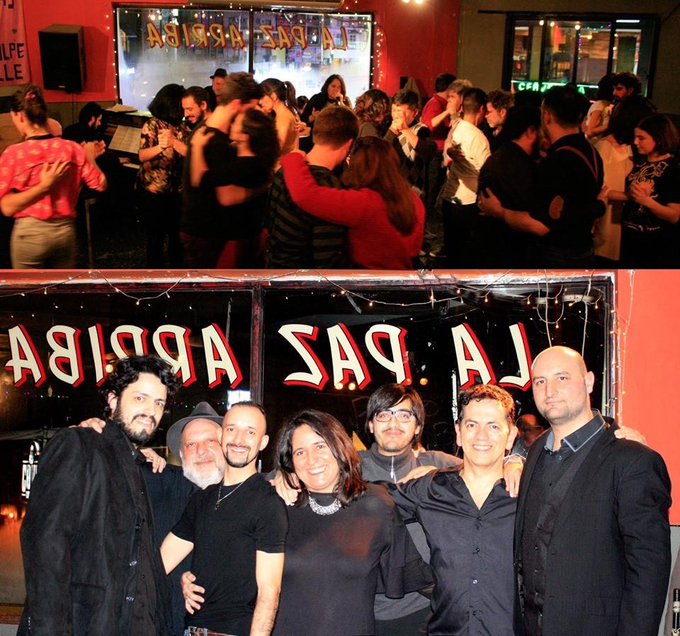 Milonga El Despelote, con el Afile Tango